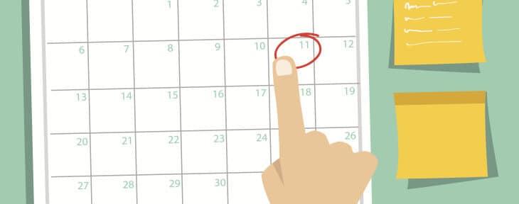 calendrier editorial fullcontent